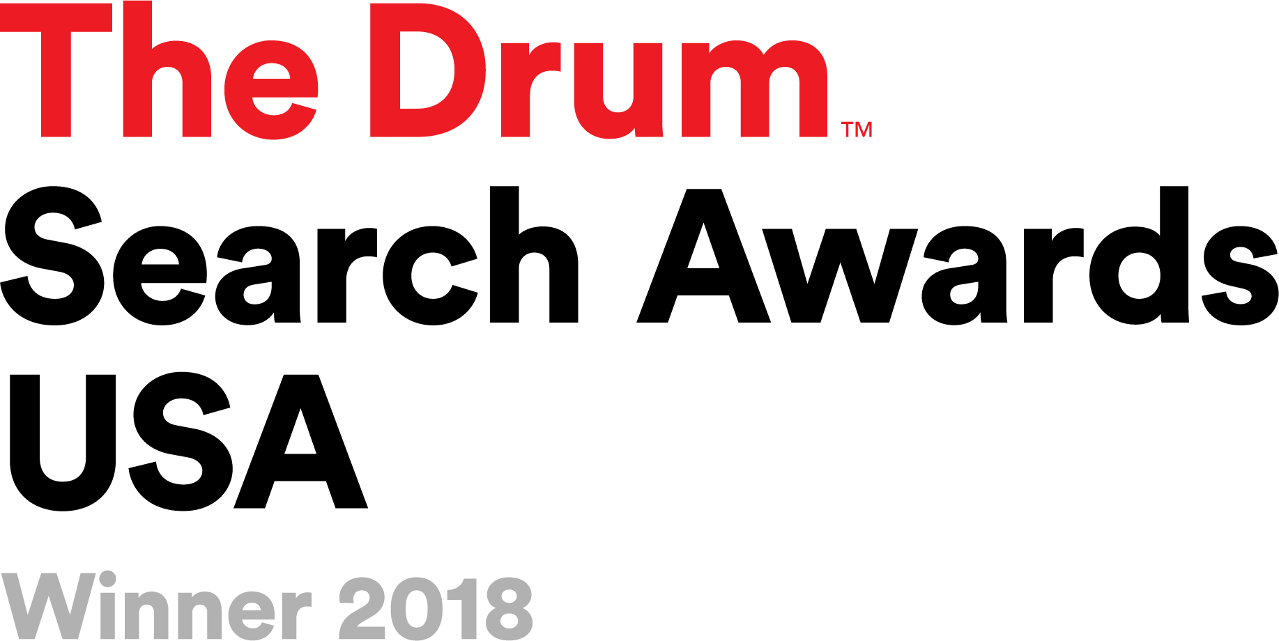 The Drum Search Awards USA 2018